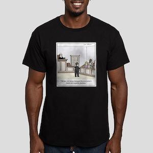 Lawyer Charisma Men's Fitted T-Shirt (dark)