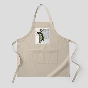 Downy Woodpecker BBQ Apron