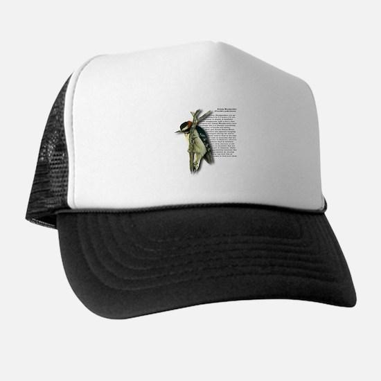 Downy Woodpecker Trucker Hat