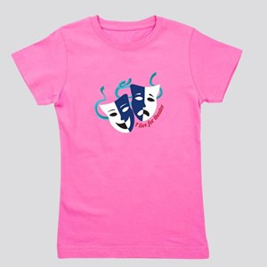 Live For Theater Girl's Tee