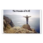 The Wonder of it All Christian Sticker