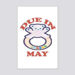 Due In May Mini Poster Print