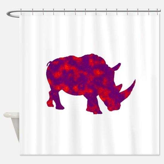 RHINO UP Shower Curtain