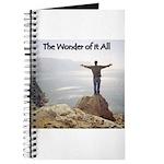 The Wonder of it All Christian Prayer Journal
