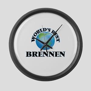 World's Best Brennen Large Wall Clock