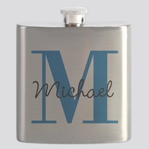 Personalize Initials and Name Flask