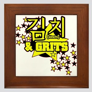 Kimchi & Grits Framed Tile