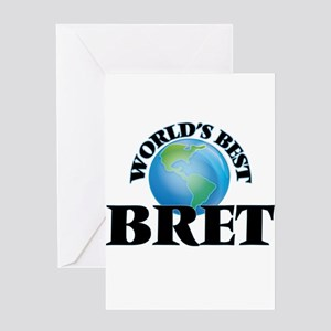 World's Best Bret Greeting Cards
