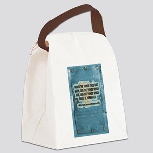 Things thou hast seen Canvas Lunch Bag