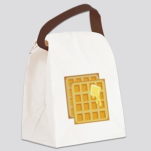 Buttered Waffles Canvas Lunch Bag