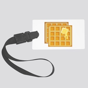Buttered Waffles Luggage Tag