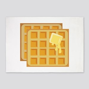 Buttered Waffles 5'x7'Area Rug