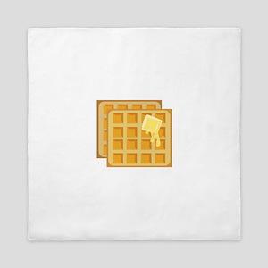 Buttered Waffles Queen Duvet