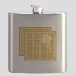 Buttered Waffles Flask