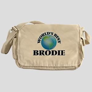 World's Best Brodie Messenger Bag
