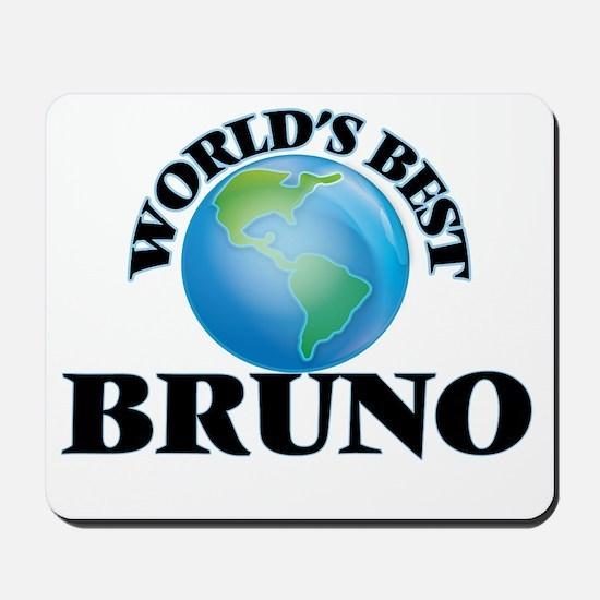 World's Best Bruno Mousepad