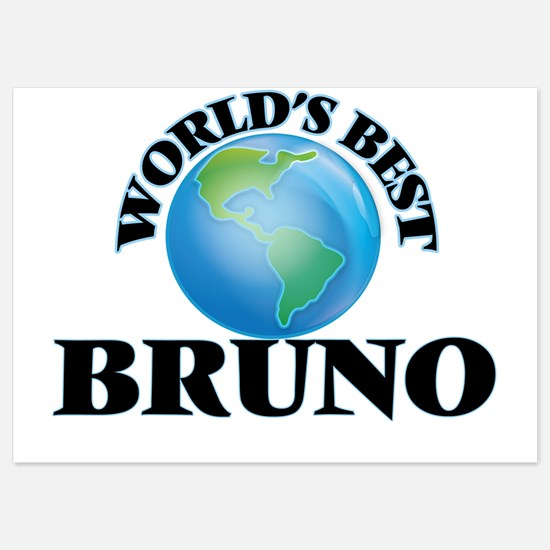 World's Best Bruno Invitations