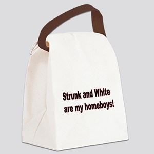 Strunk & White: Journalists' hero Canvas Lunch Bag