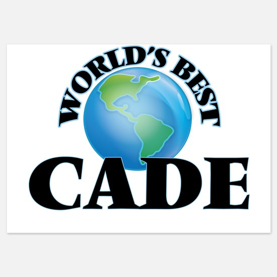 World's Best Cade Invitations