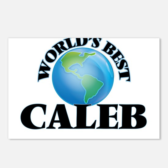 World's Best Caleb Postcards (Package of 8)