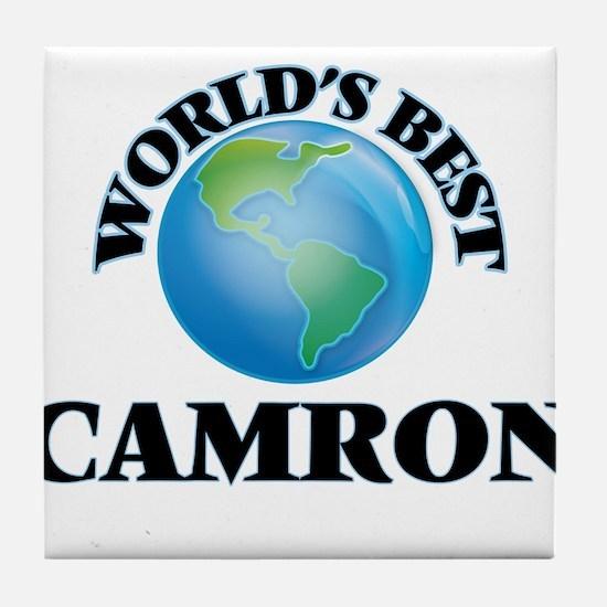 World's Best Camron Tile Coaster