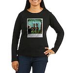 Life of Sacrifice Women's Long Sleeve Dark T-Shirt