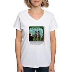 Life of Sacrifice Women's V-Neck T-Shirt