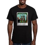 Life of Sacrifice Men's Fitted T-Shirt (dark)