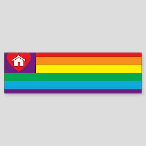 Pride Family Flag Bumper Sticker
