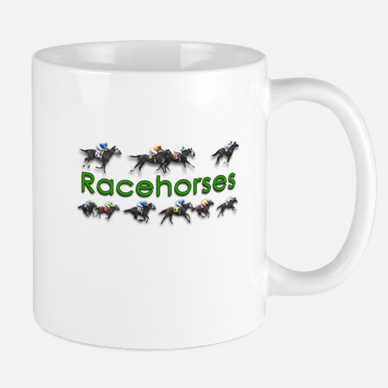 Blazing Fast Racehorses Mug