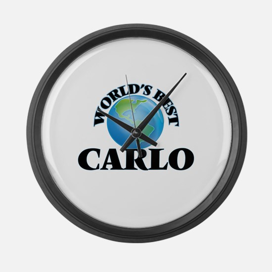 World's Best Carlo Large Wall Clock