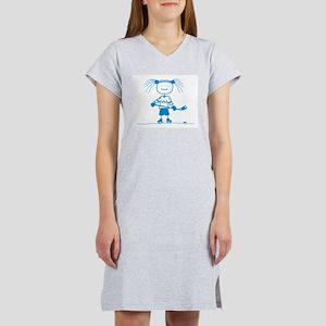 Stick Hockey (Ice Princess) Ash Grey T-Shirt