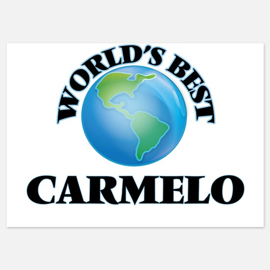 World's Best Carmelo Invitations