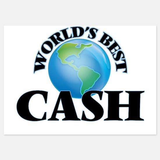 World's Best Cash Invitations