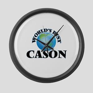 World's Best Cason Large Wall Clock