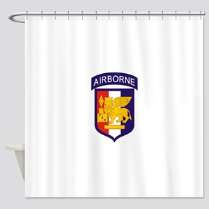 Southern European Task Force Shower Curtain