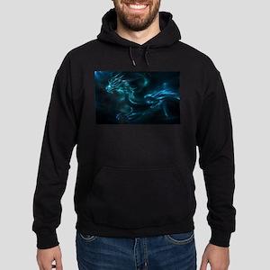 blue dragon Hoodie (dark)