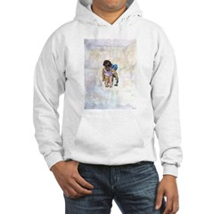 Seated Child Hoodie