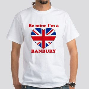 Banbury, Valentine's Day White T-Shirt
