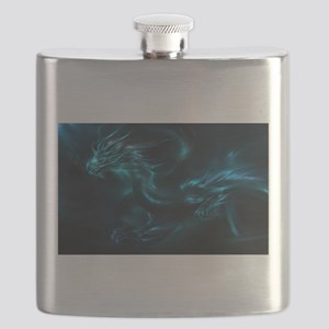 blue dragon Flask