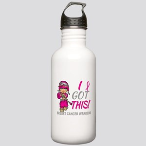 Combat Girl 2 Breast C Stainless Water Bottle 1.0L