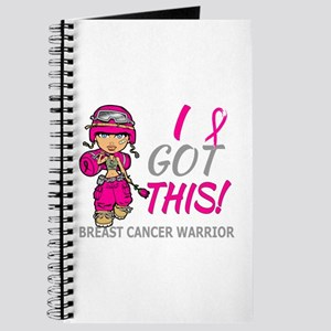 Combat Girl 2 Breast Cancer HotPink Journal