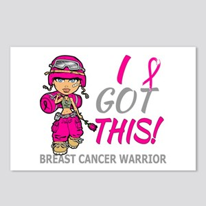 Combat Girl 2 Breast Canc Postcards (Package of 8)