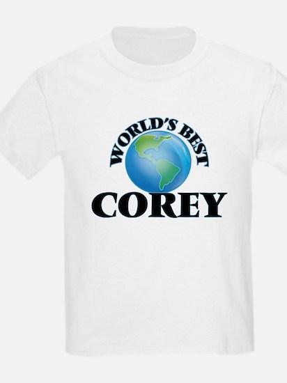 World's Best Corey T-Shirt