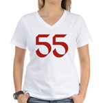 Hippie 55 Women's V-Neck T-Shirt