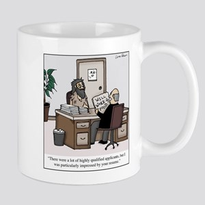 Bum Resume 11 oz Ceramic Mug