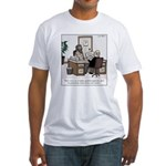 Bum Resume Fitted T-Shirt