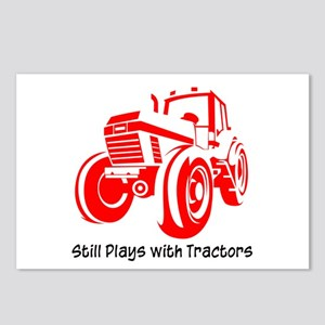 Red Tractor Postcards (Package of 8)