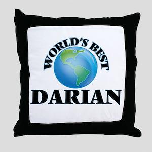 World's Best Darian Throw Pillow