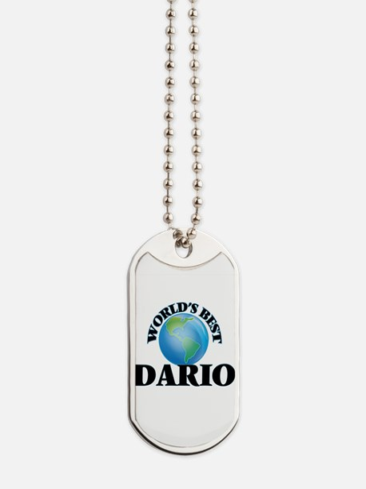 World's Best Dario Dog Tags
